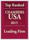 Top Ranked Leading Firm 2015 by Chambers USA